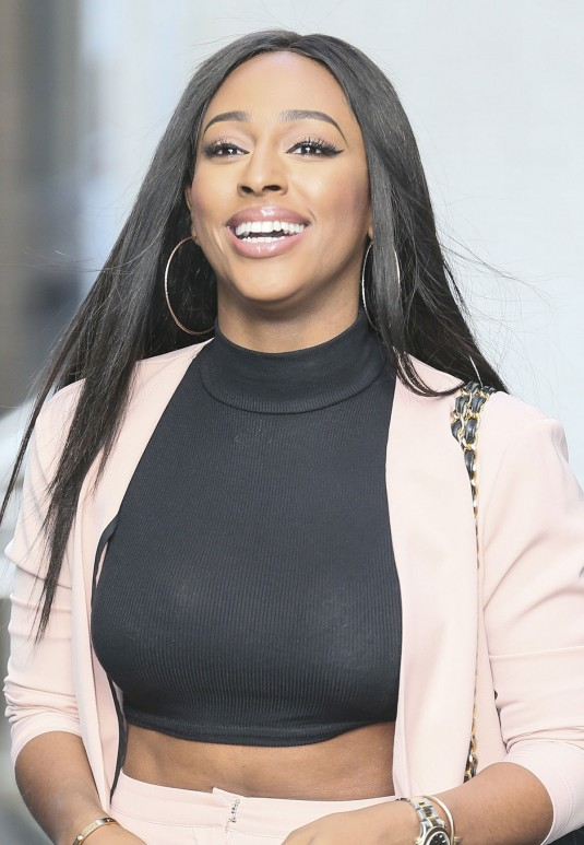 ALEXANDRA BURKE Out and About in London