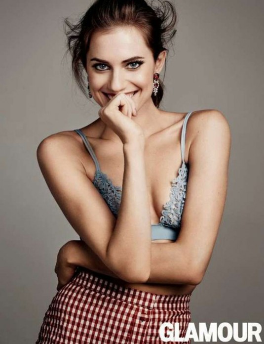 ALLISON WILLIAMS in Glamour Magazine