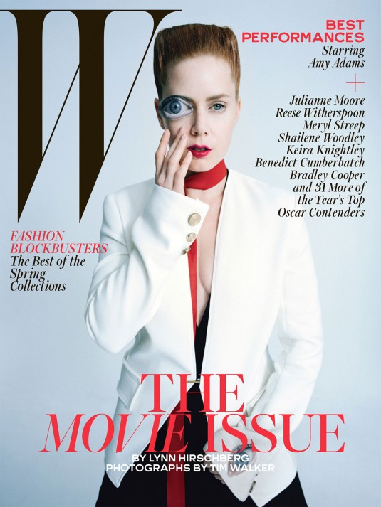 AMY ADAMS in W Magazine, February 2015 Issue