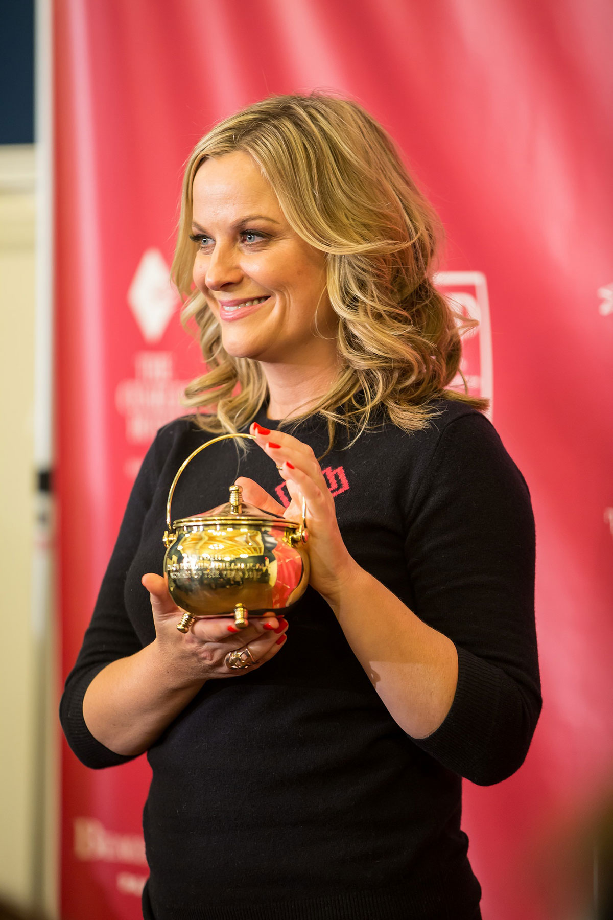 AMY POEHLER Receives the 2015 Hasty Pudding Award ...