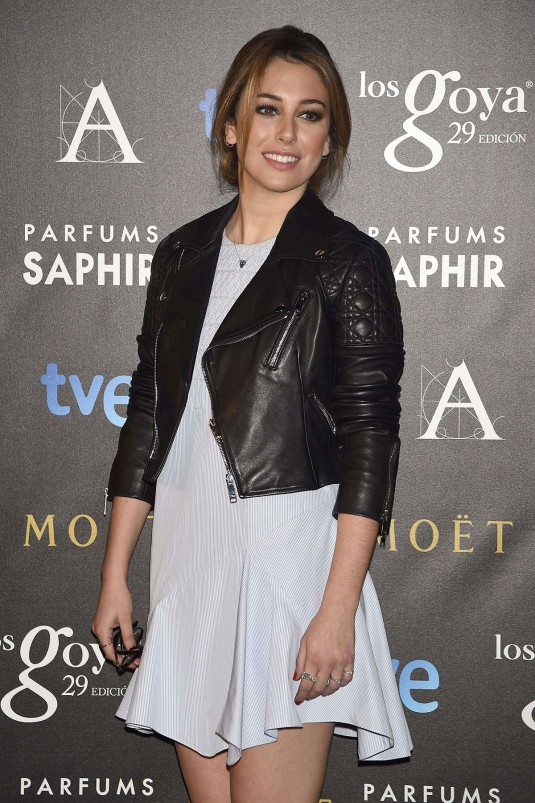BLANCA SUAREZ at Goya Awards Candidates Press Conference