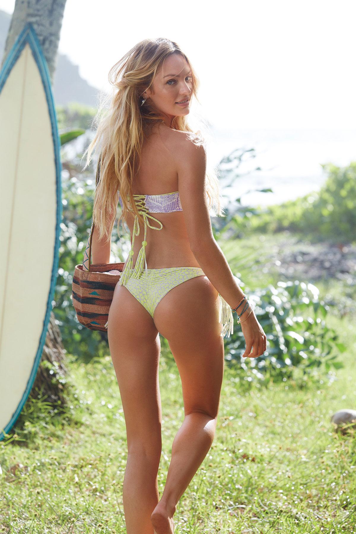 Michelle Lewin - Wearing Bikini on Miami Beach | GotCeleb