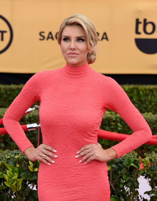 CHARISSA THOMPSON at 2015 SAG Awards