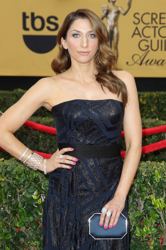 CHELSEA PERETTI at 2015 SAG Awards