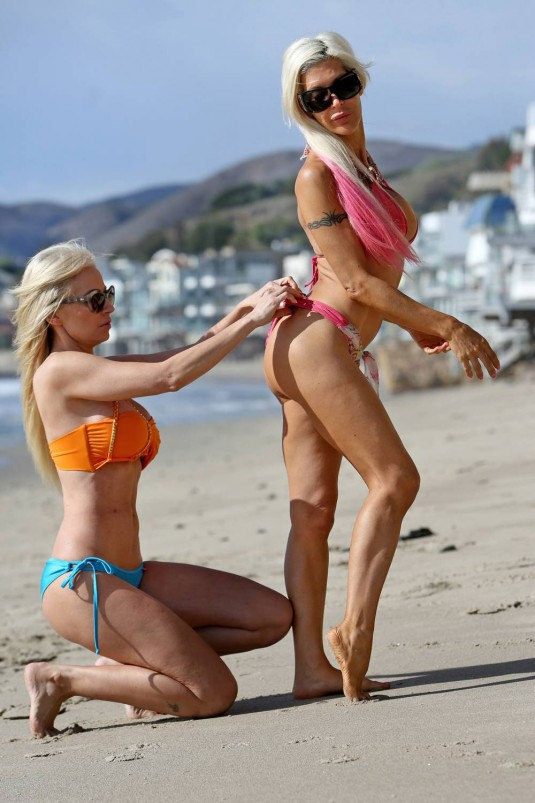 FRENCHY MORGAN and ANA BRAGA in Bikinis