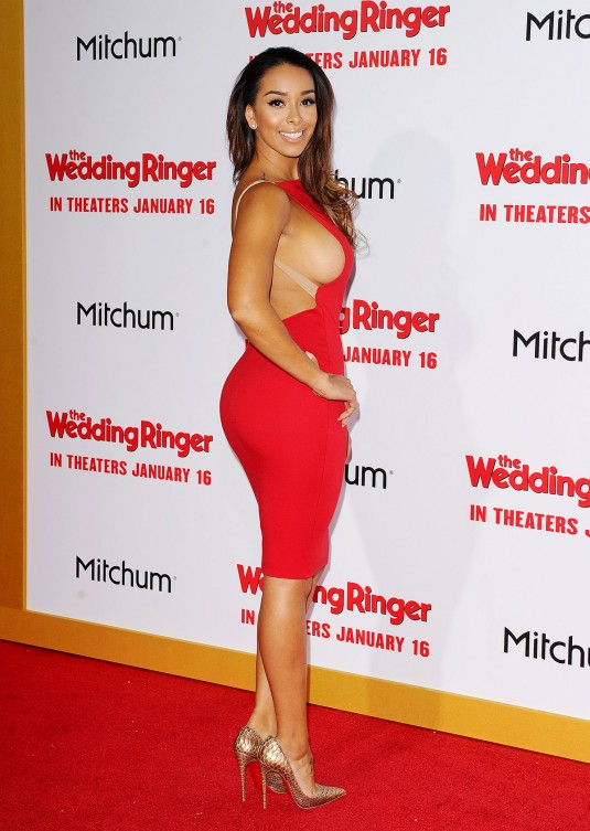 GLORIA GOVAN at The Wedding Ringer Premiere