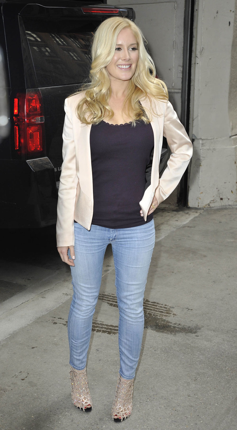 Heidi Montag Arrives At The Today Show Hawtcelebs