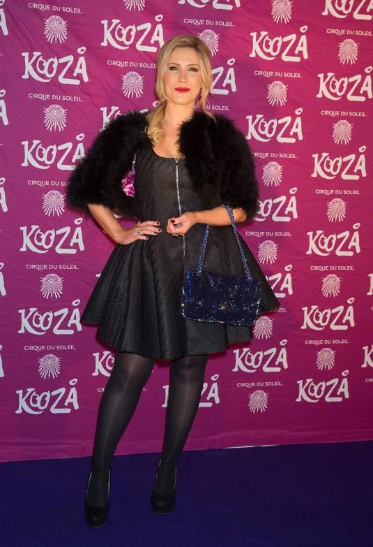 HEIDI RANGE at Kooza by Cirque du Soleil VIP Performance in London