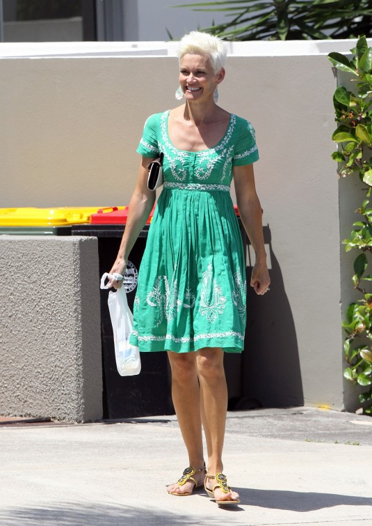 JESSICA ROWE Out Shopping in Sydney