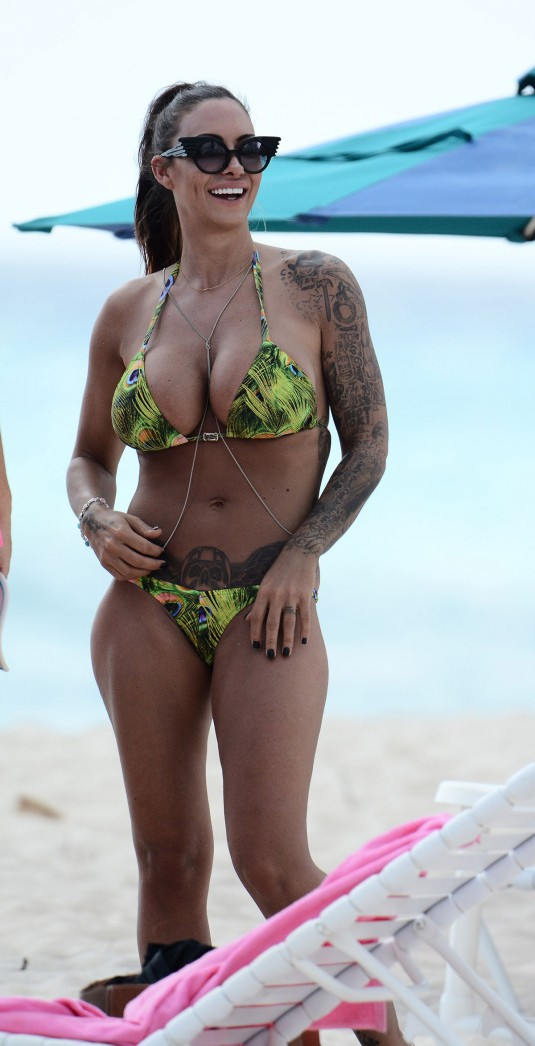JODIE MARSH in Bikini