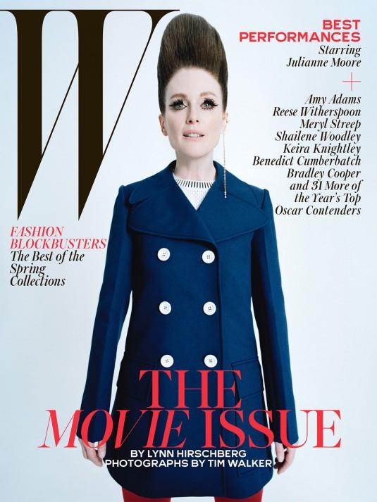 JULIANNE MOORE in W Magazine, February 2015 Issue