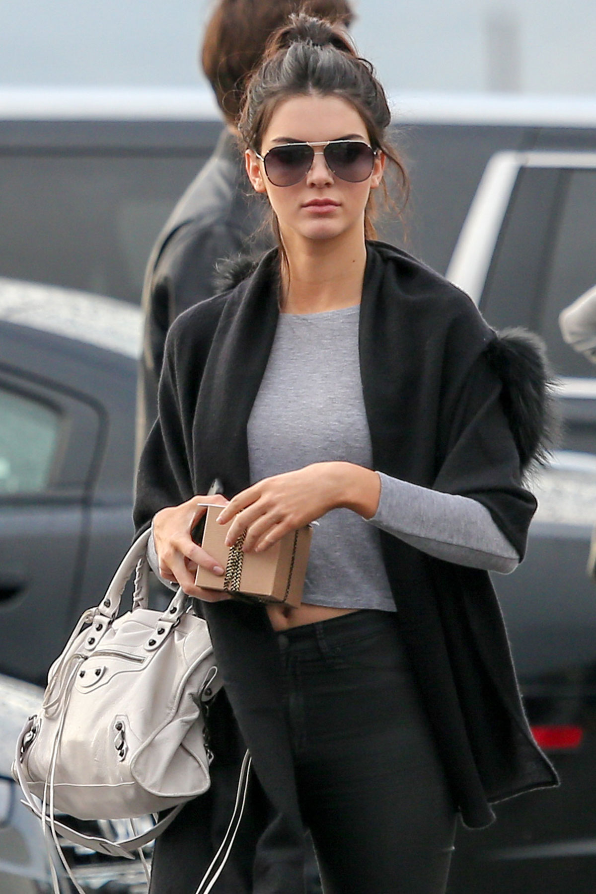 KENDALL JENNER Leaves a Photoshoot in Venice Beach ...