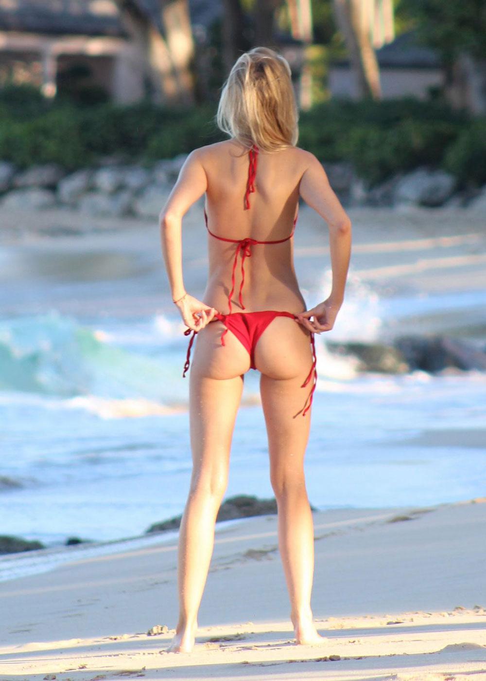Ass Kimberley garner bikini