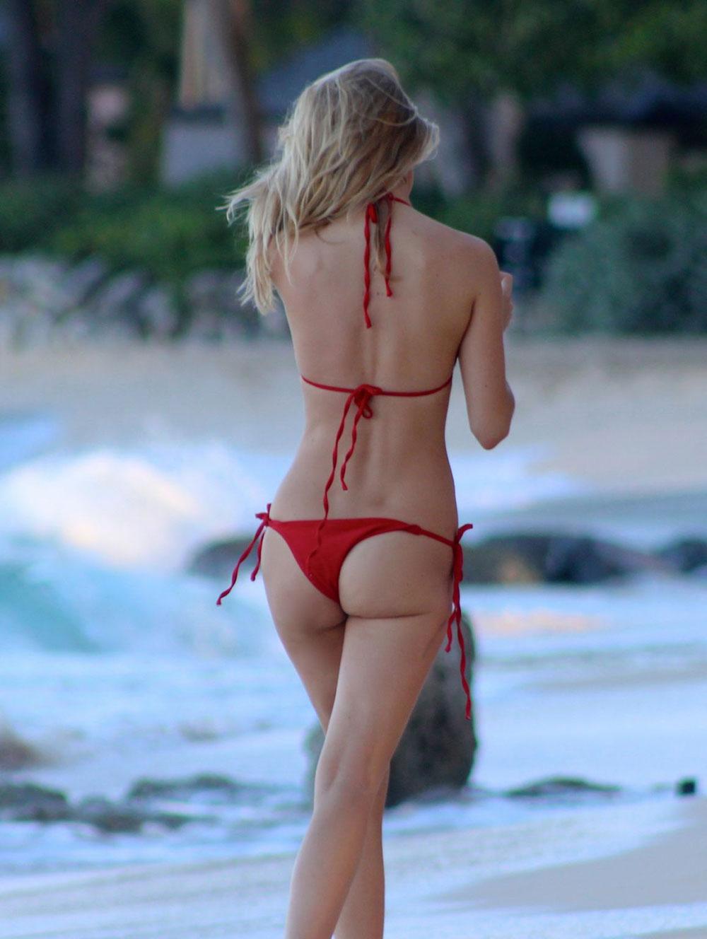 0b8d83cec5a KIMBERLEY GARNER in Red Tiny Bikini – HawtCelebs