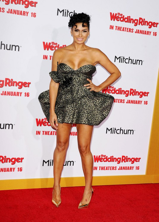 LAURA GOVAN at The Wedding Ringer Premiere