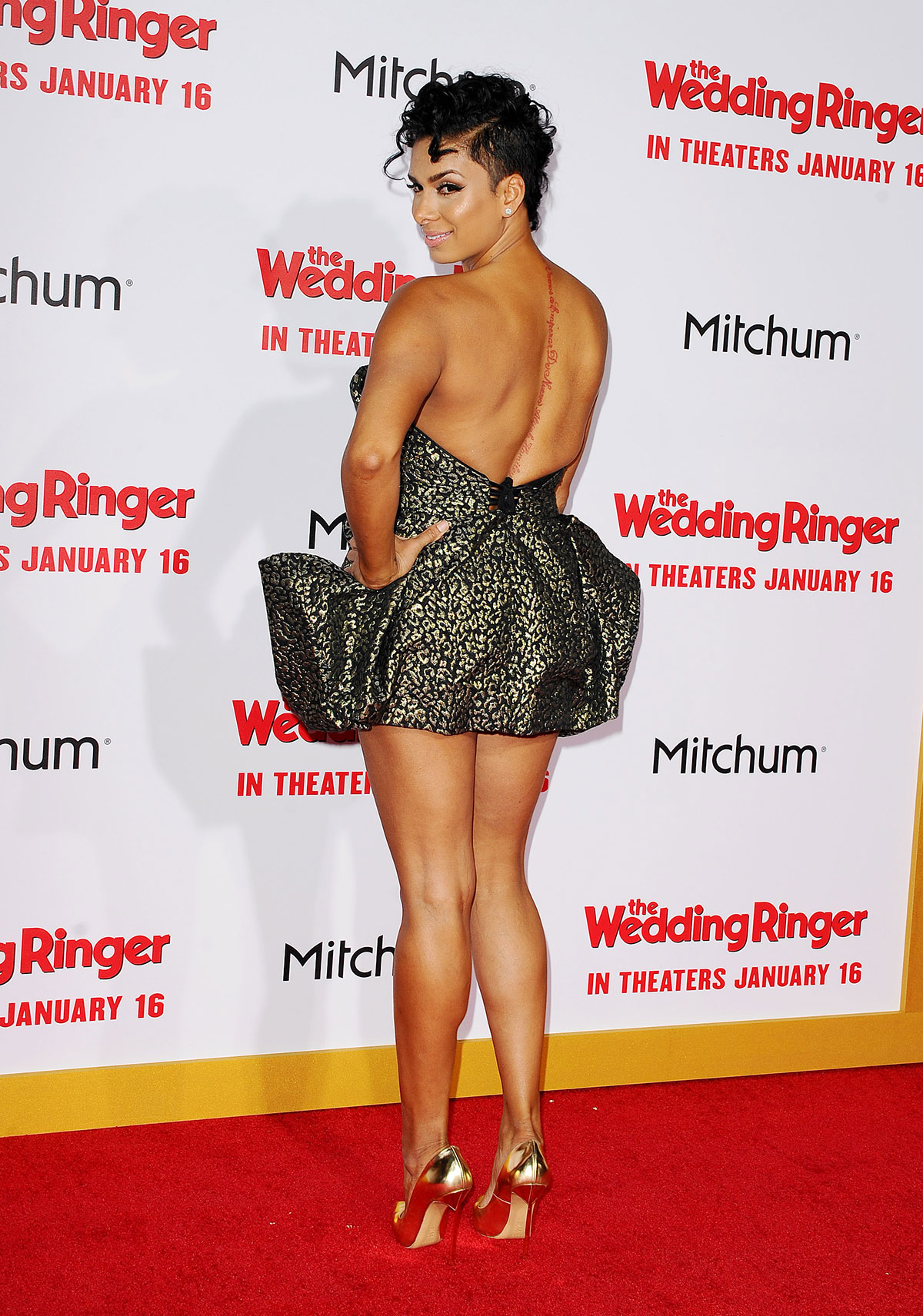 Laura Govan At The Wedding Ringer Premiere In Hollywood Hawtcelebs