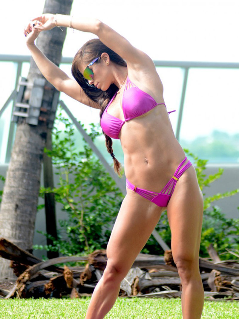 For bikini work out video not happens))))