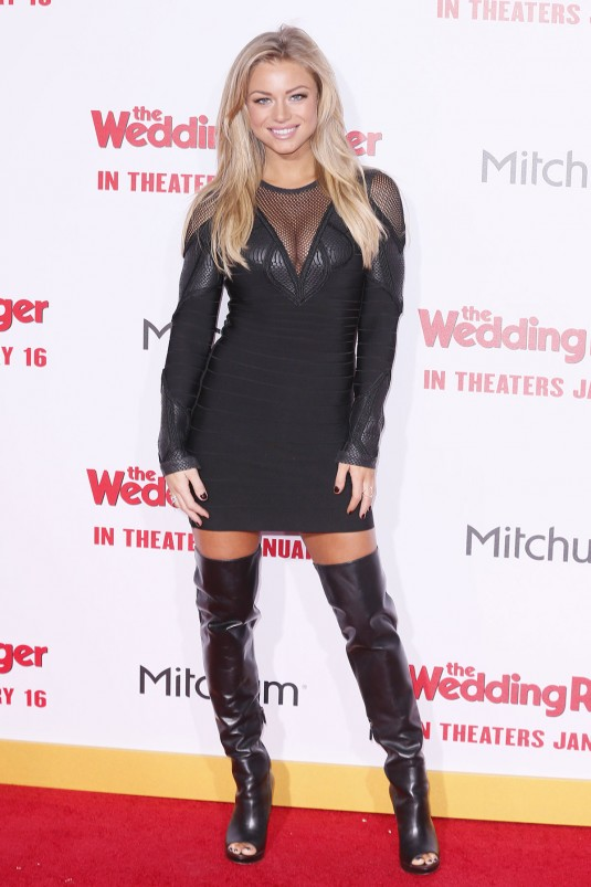 NIKKI LEIGH at The Wedding Ringer Premiere