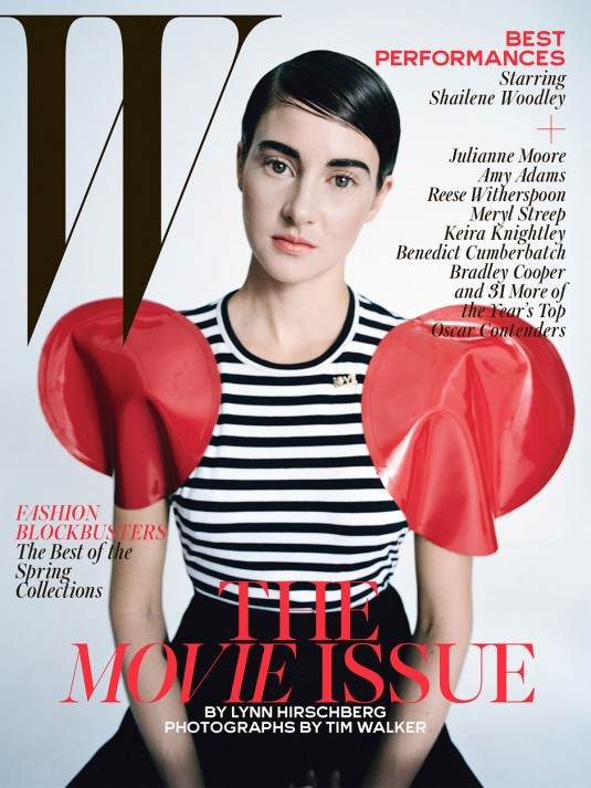 SHAILENE WOODLEY in W Magazine, February 2015 Issue