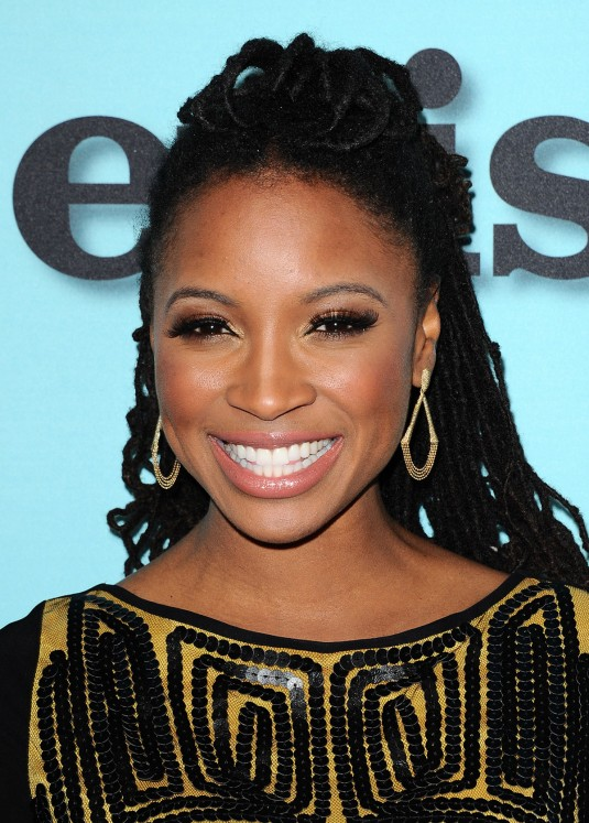 SHANOLA HAMPTON at Shameless, House of Lies and Episodes Premiere