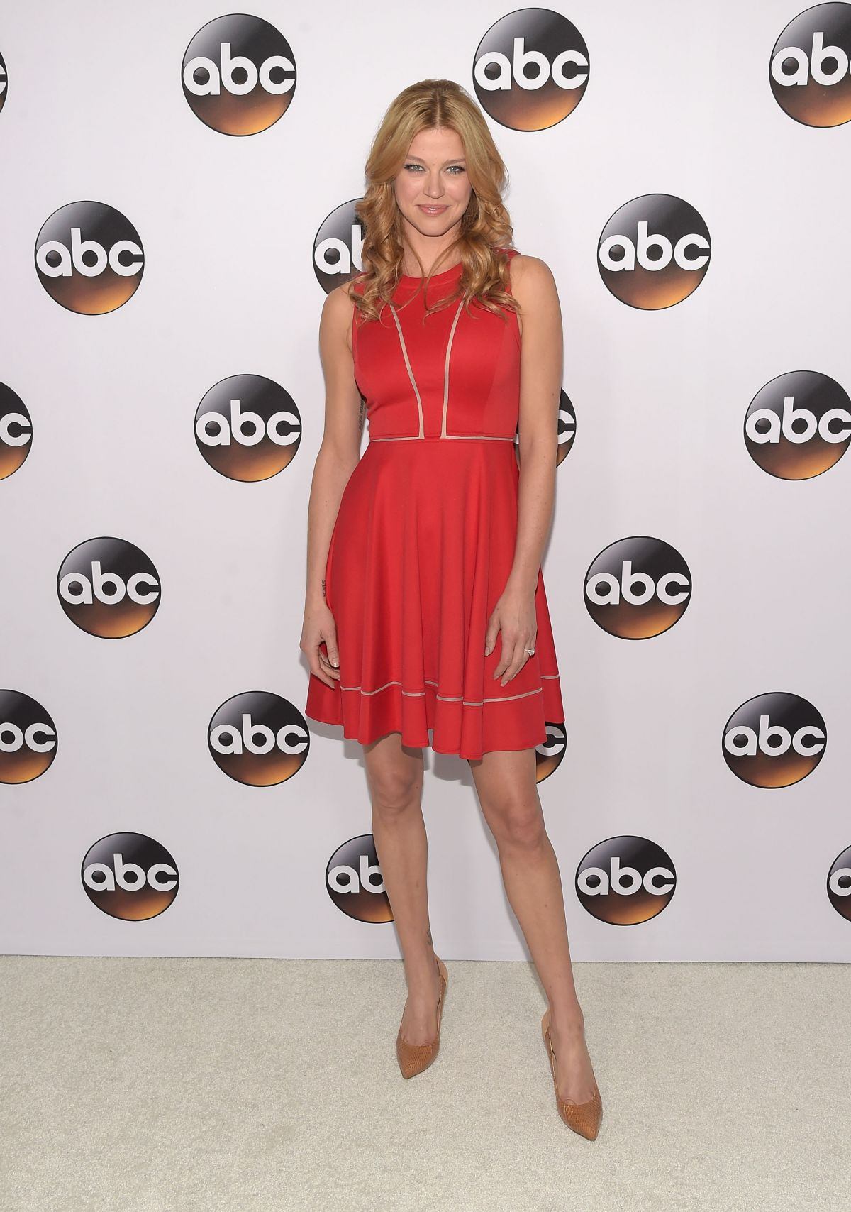 ADRIANNE PALICKI at Disney and ABC Television Group TCA Winter Press Tour in Pasadena