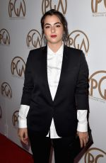 ALANNA MASTERSON at 2015 Producers Guild Awards in Los Angeles