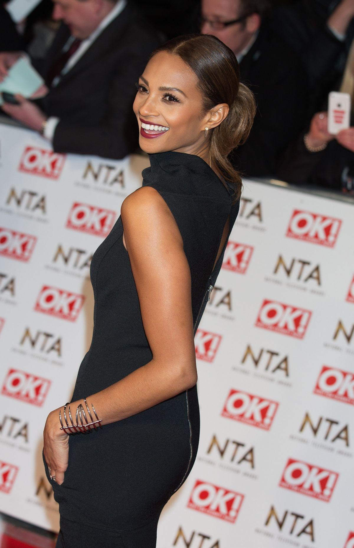 ALESHA DIXON at 2015 National Television Awards in London