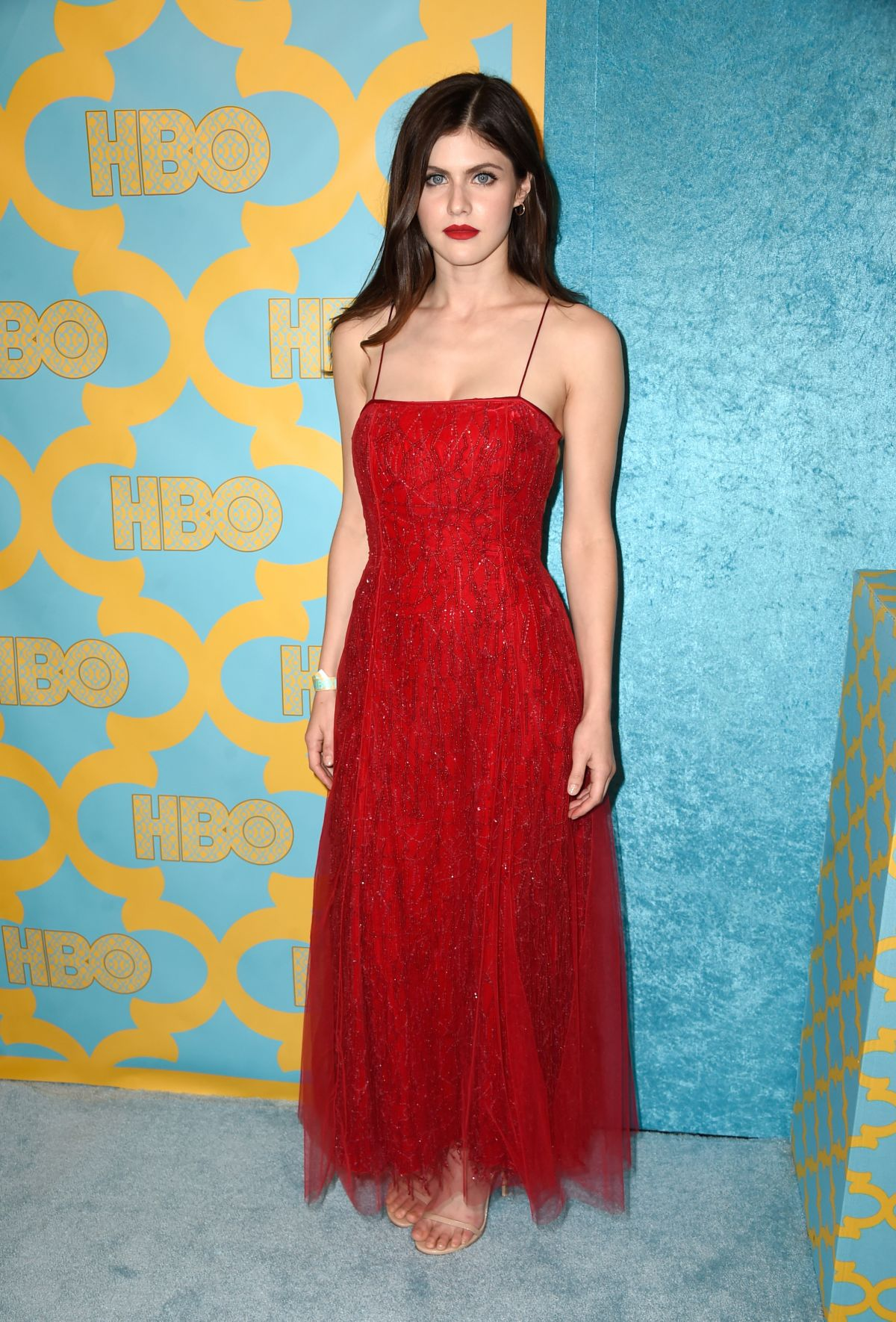 ALEXANDRA DADDARIO at HBO Golden Globes Party in Beverly Hills