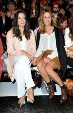 ALEXANDRA NELDEL and BETTINA ZIMMERMANN at Marc Cain Fashion Show in Berlin