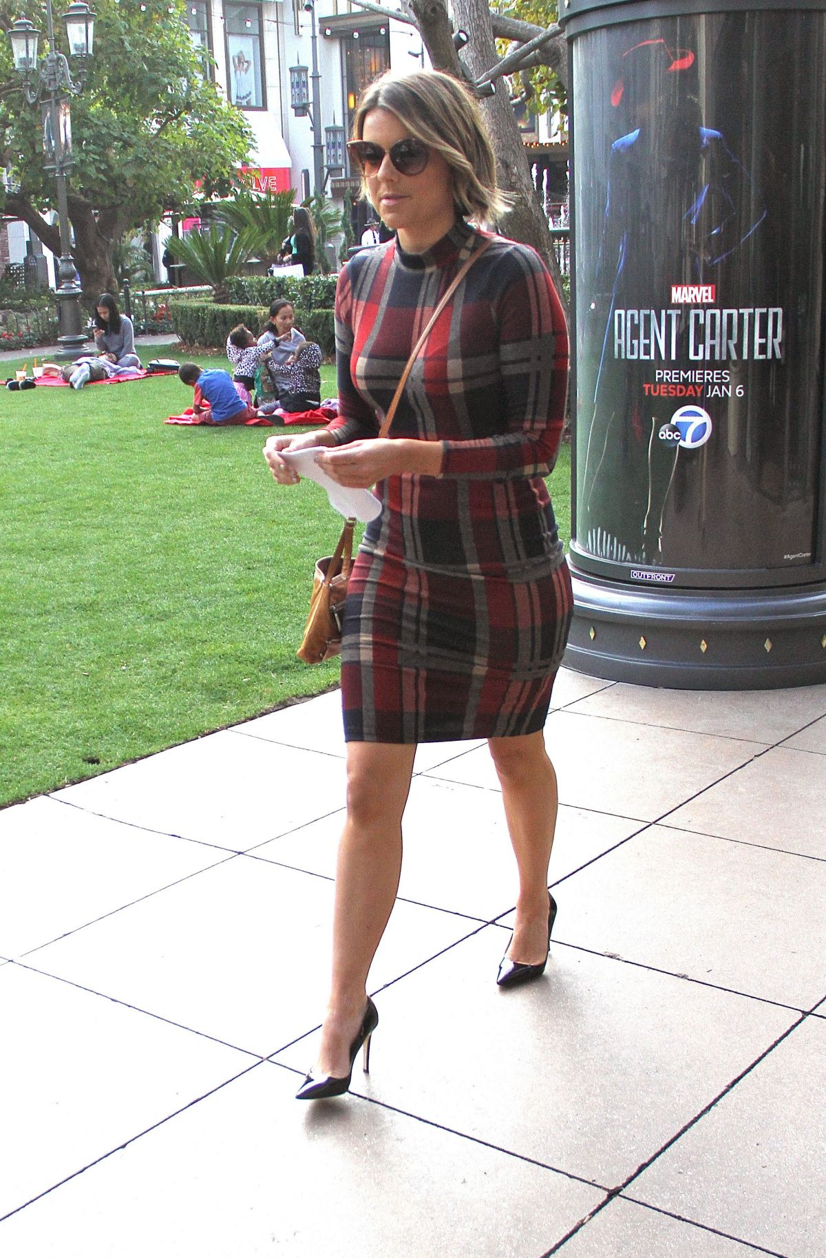 ALI FEDOTOWSKY at The Grove in West Hollywood