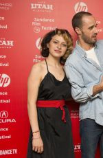 ALIA SHAWKAT at Nasty Baby Premiere at 2015 Sundance Film Festival