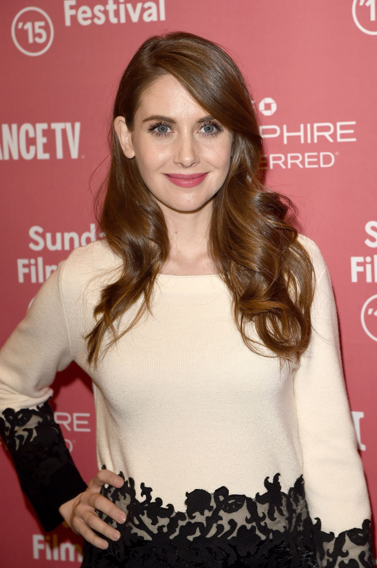 ALISON BRIE at Sleeping with Other People Premiere at 2015 Sundance Film Festival