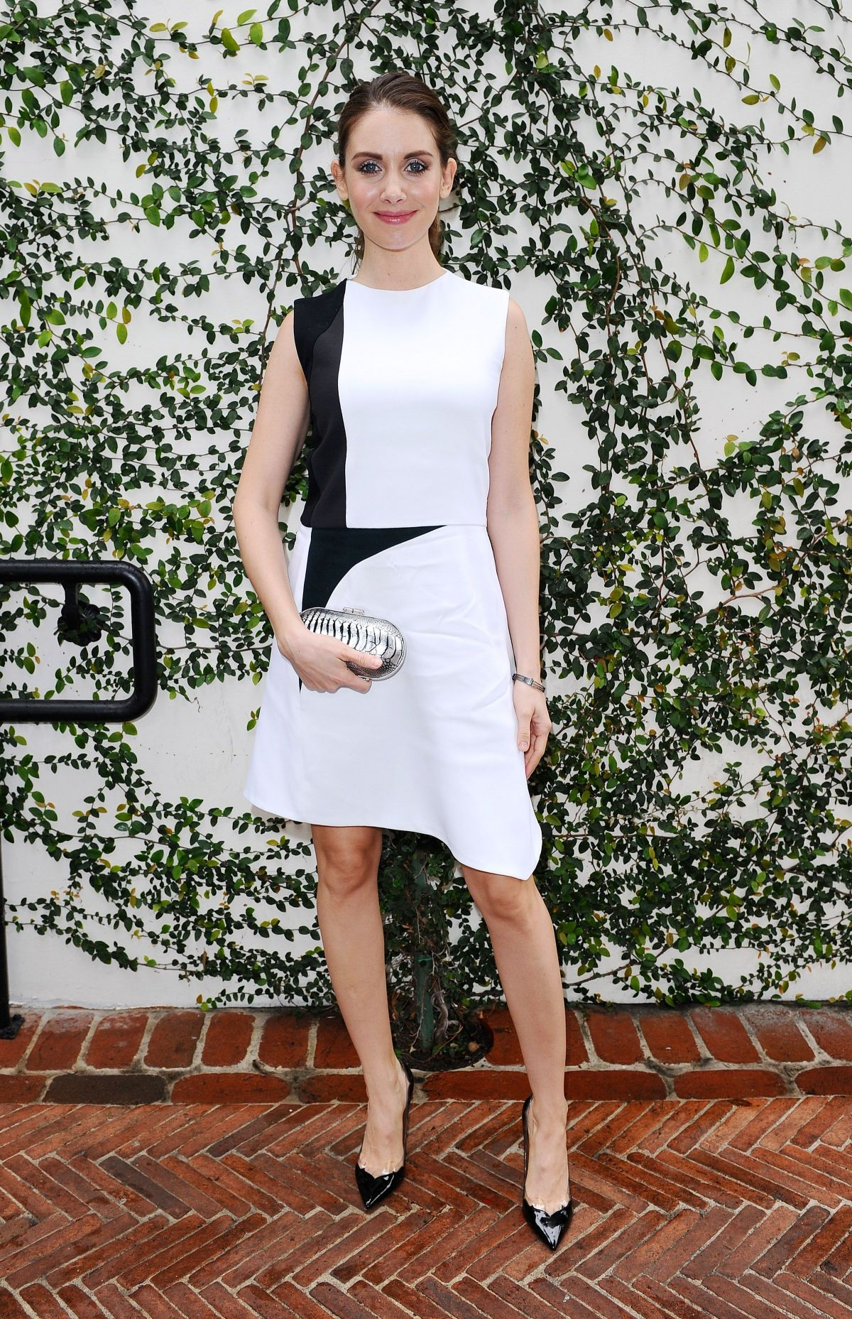 ALISON BRIE at W Magazine Luncheon in Los Angeles