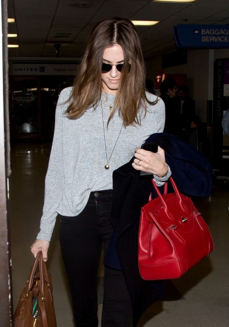 ALLISON WILLIAMS at LAX Airport in Los Angeles 0901