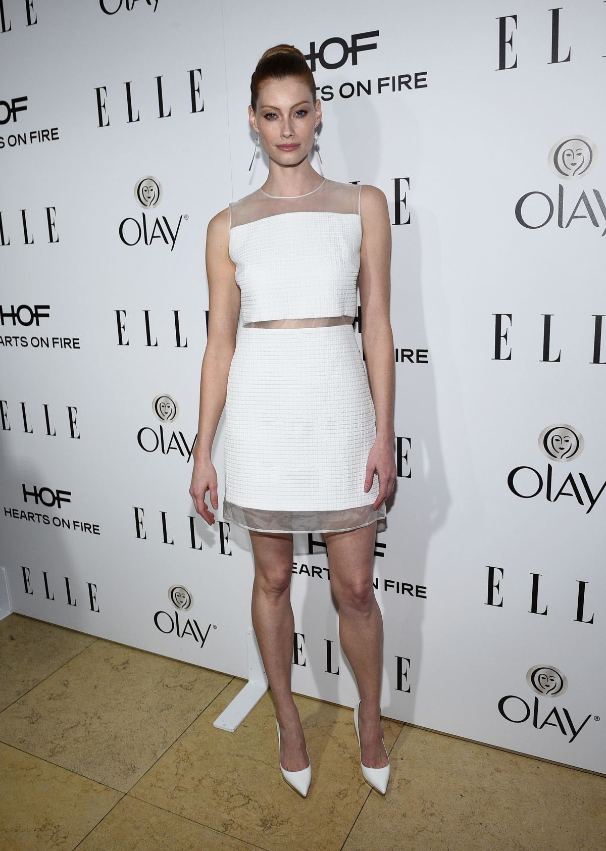 ALYSSA SUTHERLAND at 2015 Elle Women in Television Celebration in West Hollywood