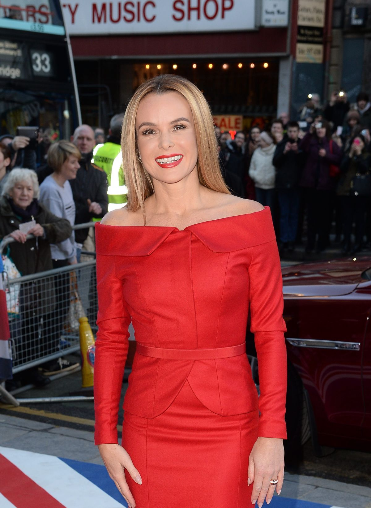 AMANDA HOLDEN at Britain's Got Talent Audition