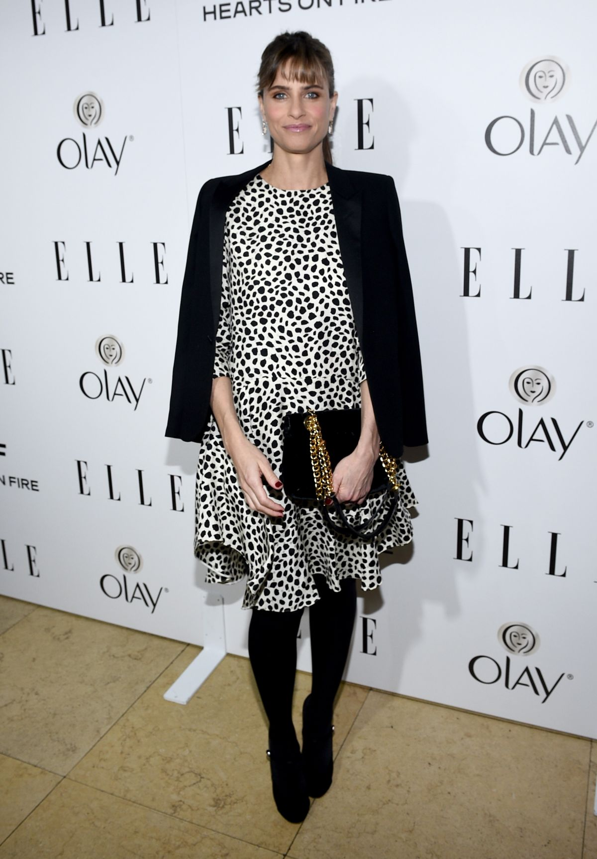 AMANDA PEET at 2015 Elle Women in Television Celebration in West Hollywood