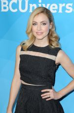 AMANDA SCHULL at NBC/Universal TCA Press Tour in Pasadena