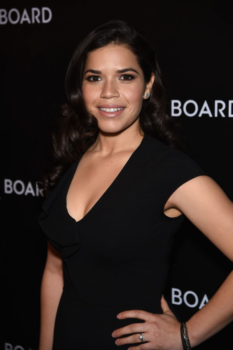 AMERICA FERRERA at 2014 National Board of Review Gala in New York