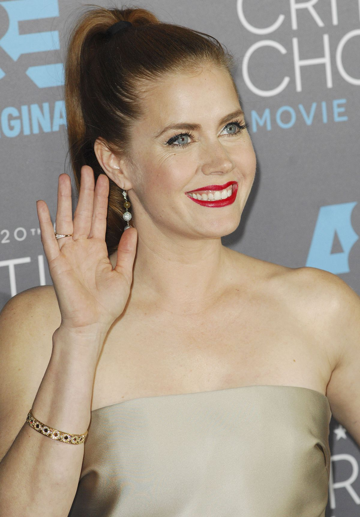 AMY ADAMS at 2015 Critics Choice Movie Awards in Los ...