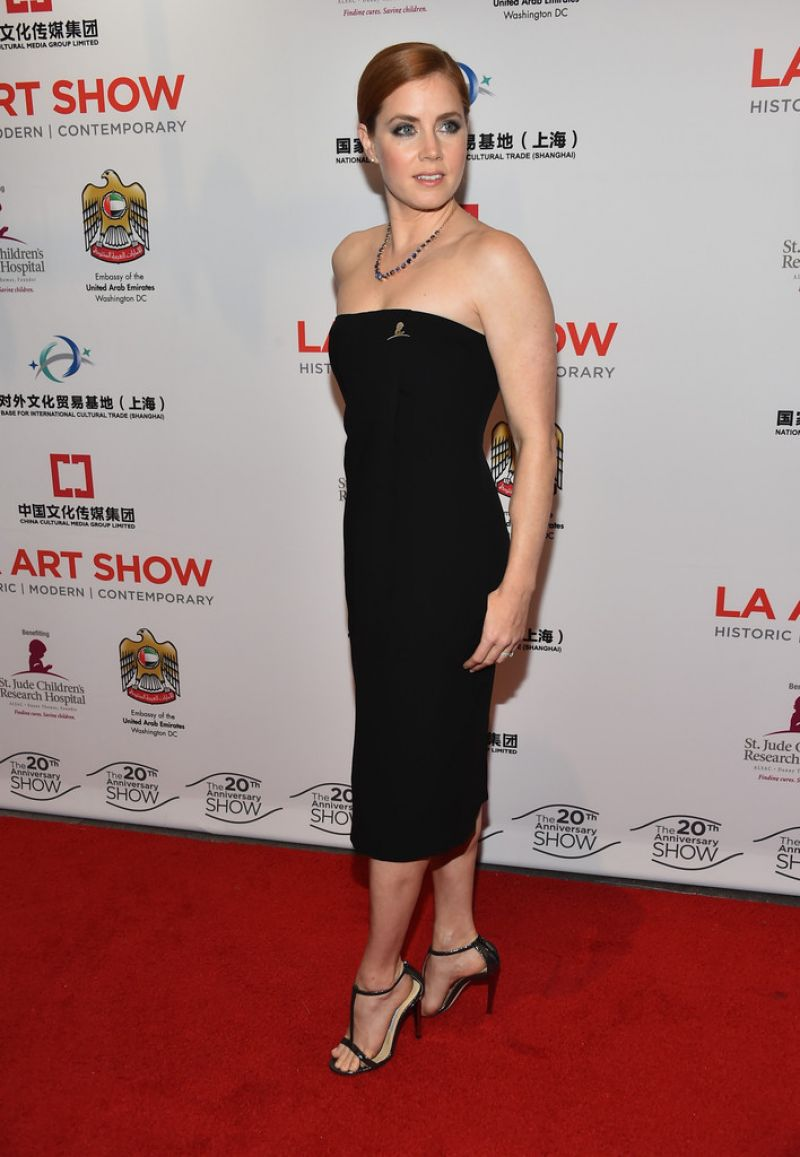 AMY ADAMS at LA Art Show 2015 Opening Night Premiere Party
