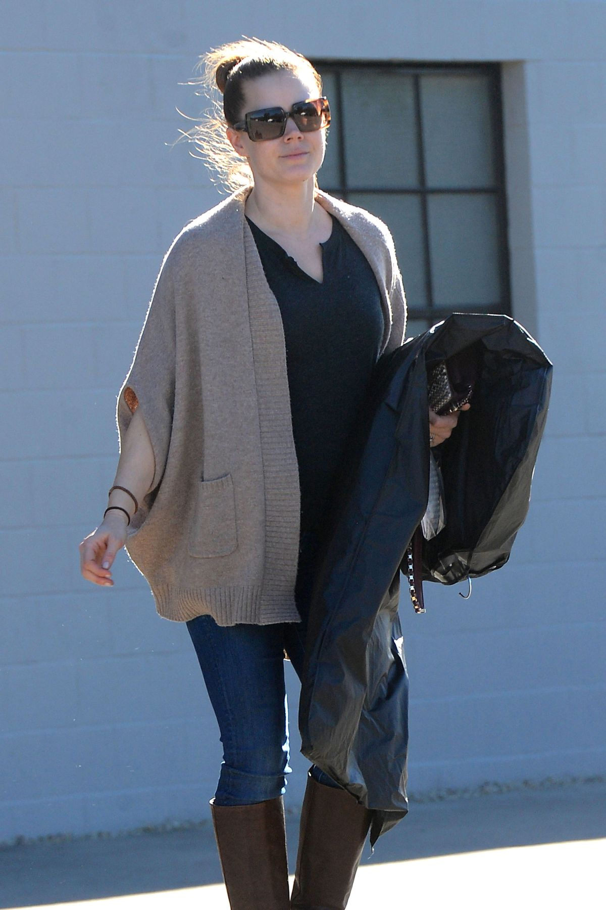 AMY ADAMS Leaves an Office in West Hollywood 1401