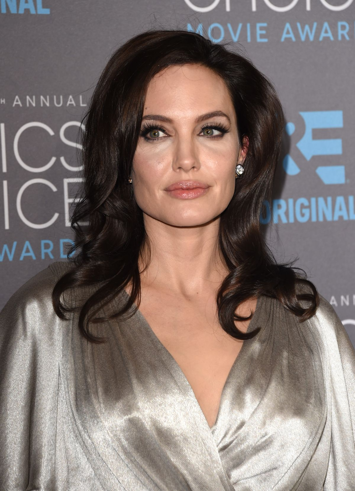 ANGELINA JOLIE at 2015 Critics Choice Movie Awards in Los Angeles