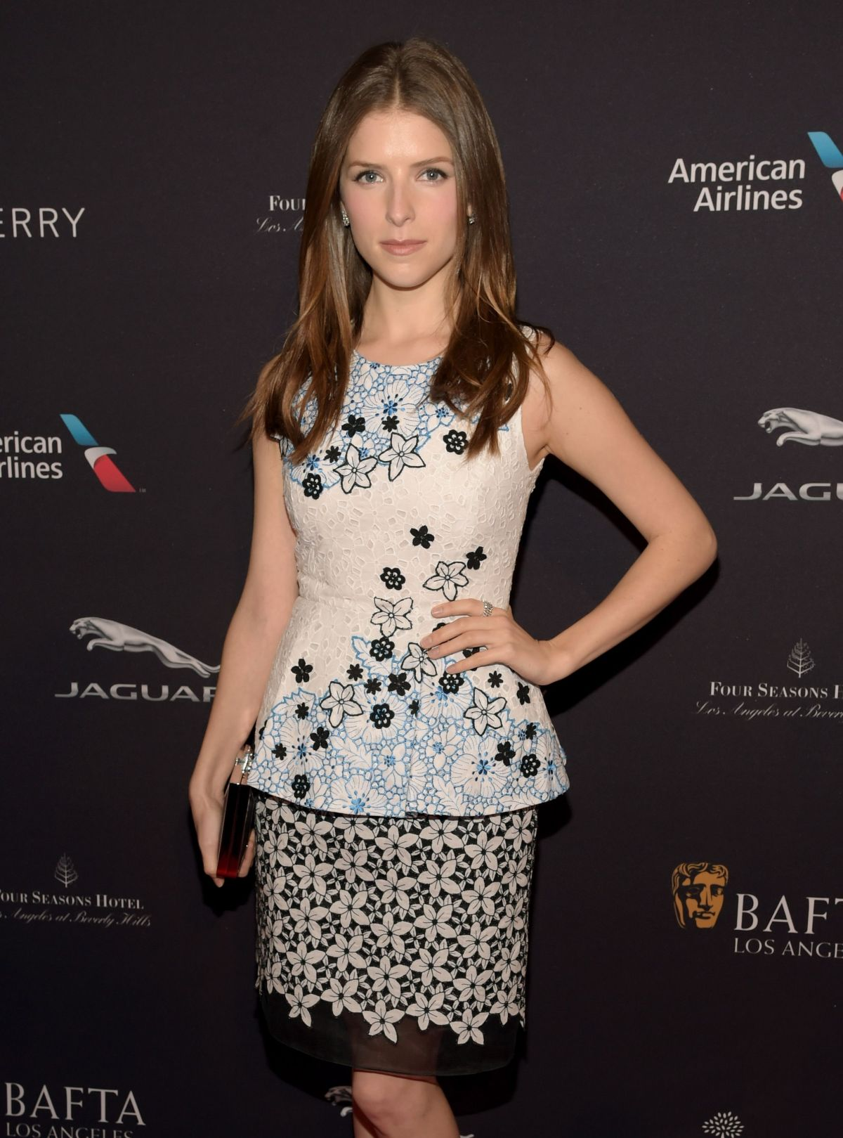 ANNA KENDRICK at Bafta Tea Party in Los Angeles