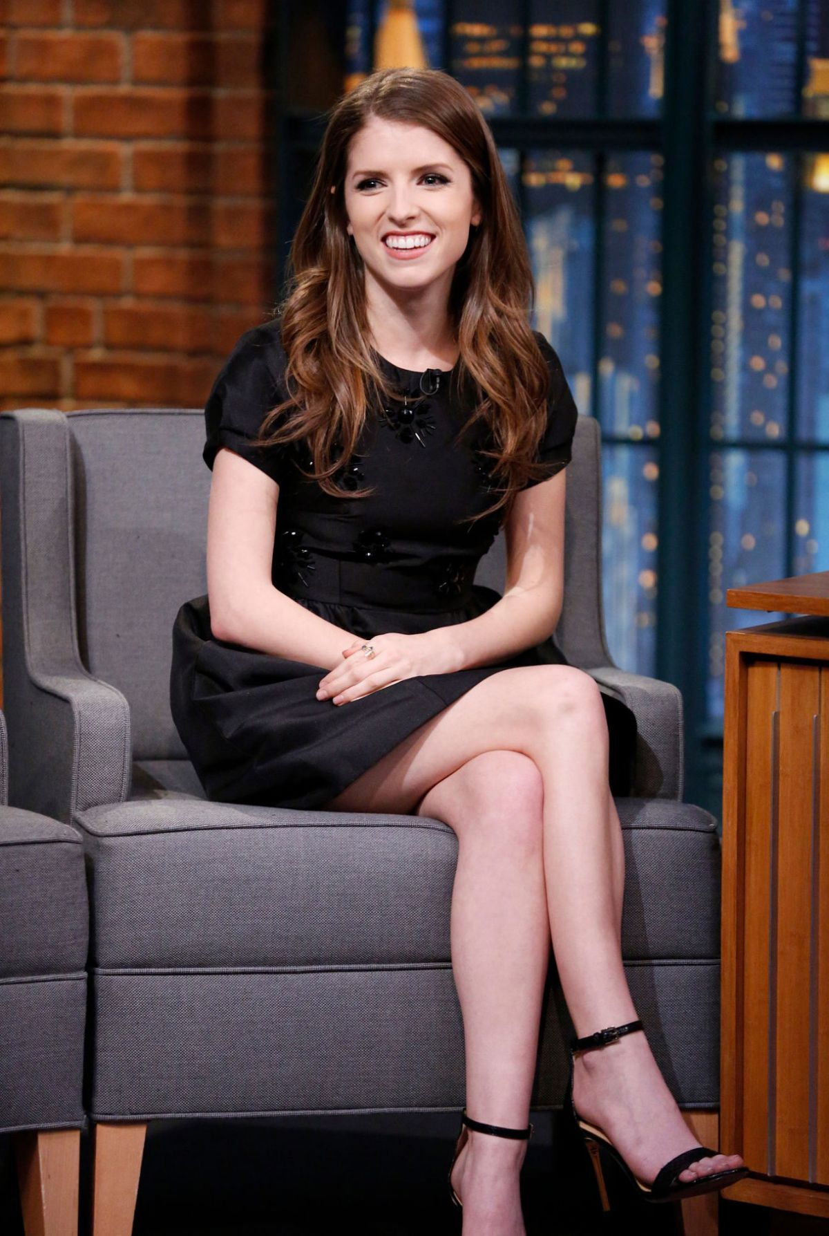ANNA KENDRICK at Late Show with Seth Myers