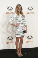 ANNA SIMON at Antena 3 TV Channel 25th Anniversary Party in Madrid