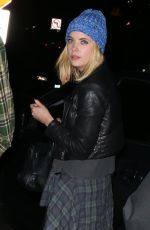 ASHLE BENSON Leaves Chateau Marmont in Hollywood 2001