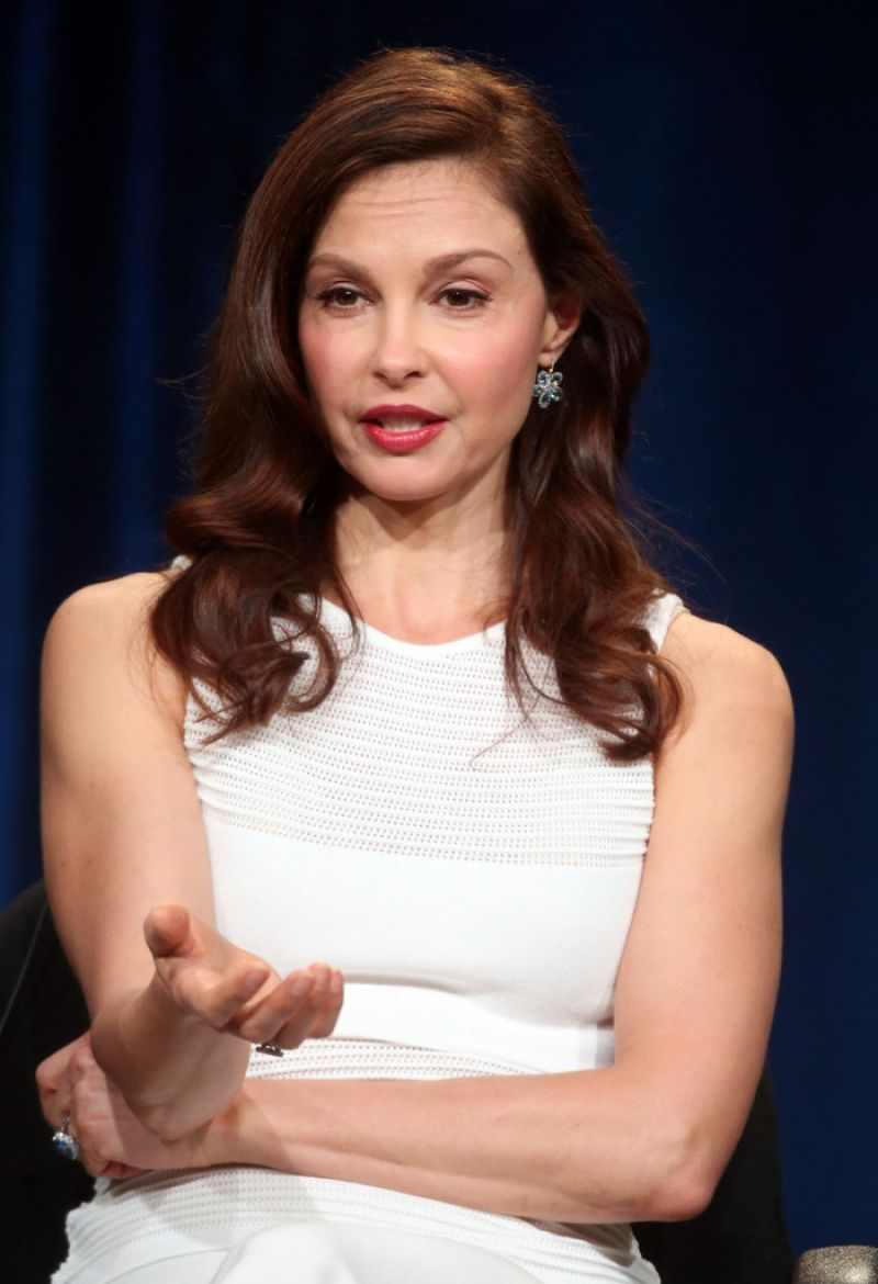 ASHLEY JUDD at Independent Lens a Path Appears Panel at TCA Tour in Pasadena