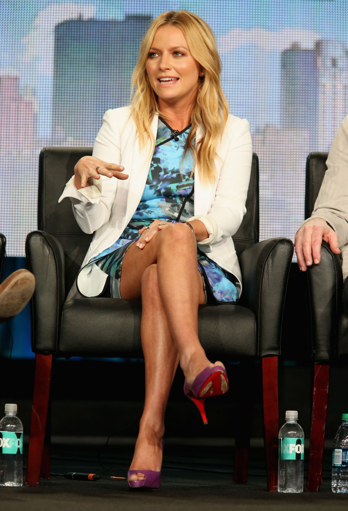 BECKI NEWTON at Weird Loners Panael TCA Press Tour in Pasadena