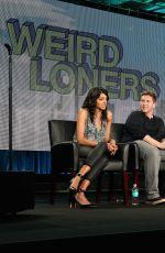 BECKI NEWTON at Weird Loners Panael TCA Press Tour in Pasadena